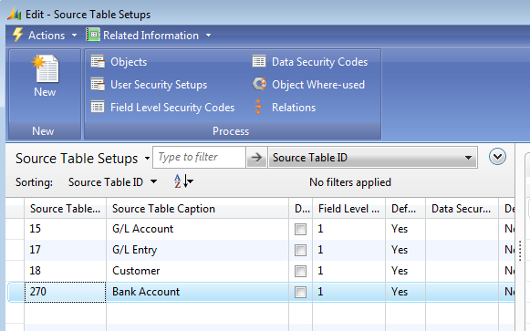 How To Add Additional Tables to Source Table Setup in Field Level and Data Security  sc 1 st  Mergetool.com : types of table set up - pezcame.com